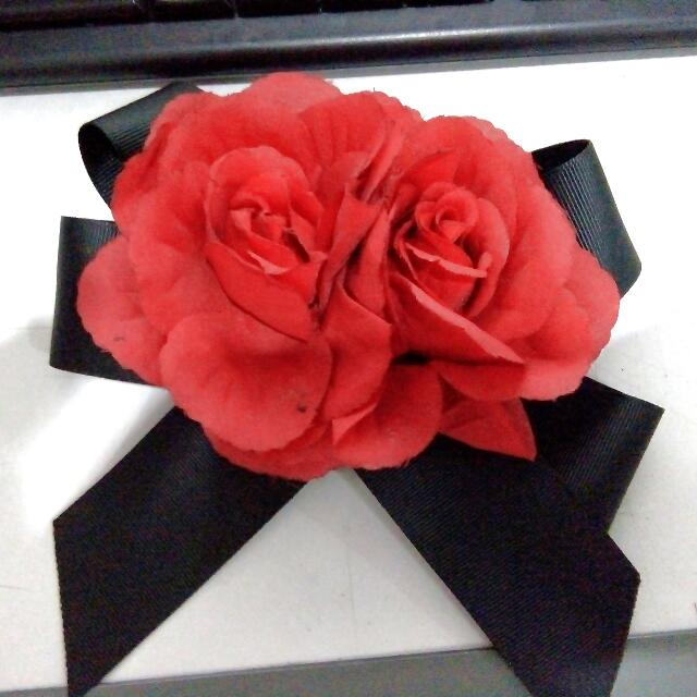 Rose Hair Bow (clip) - Claire's