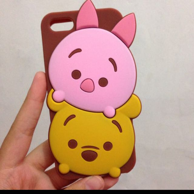 rubbercase Iphone 5/5s/5c TsumTsum