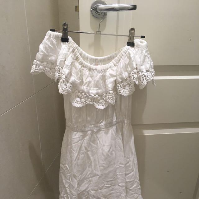 Sabo Skirt Off The Shoulder Dress