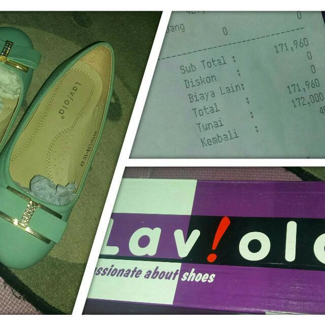 Sepatu Lavino Flatshoes