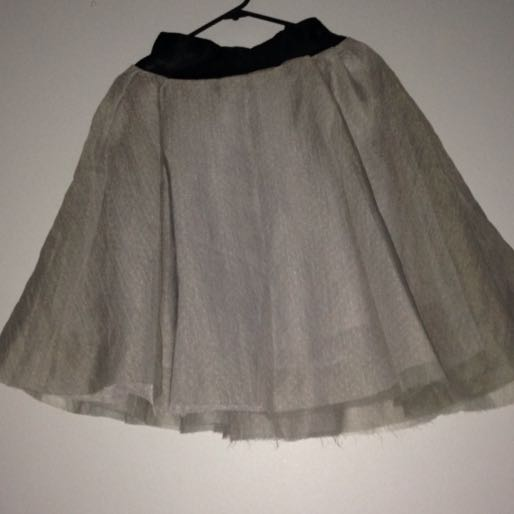 size S grey skirt
