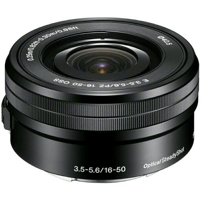 Sony Lens 16–50mm F3.5–5.6 OSS (SELP1650)