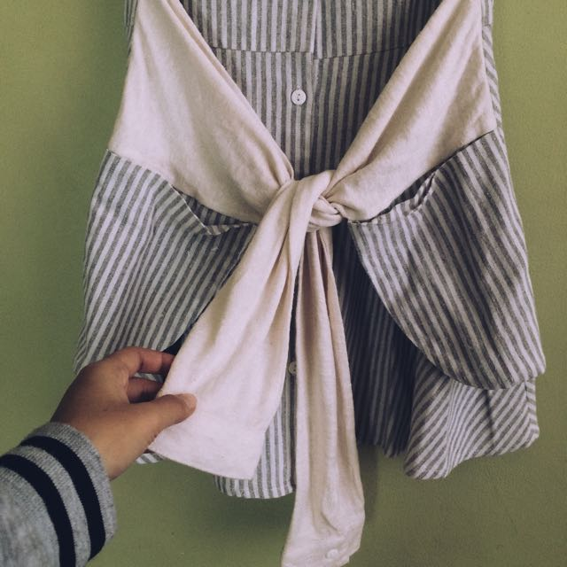 Striped Botton Down Dress