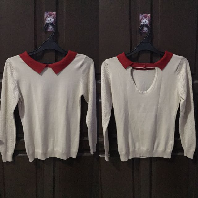 Sweater Collar Cream