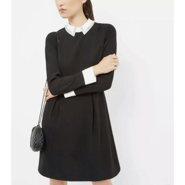 bb365c899 Ted Baker Timu Embellished Collar Dress