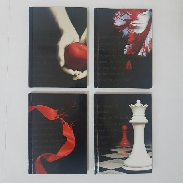The Twilight Saga Journal Box Set