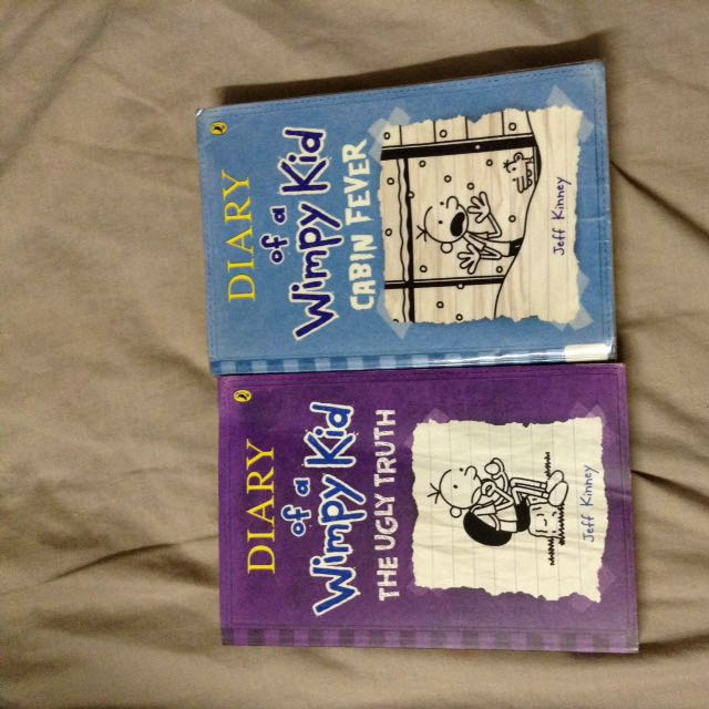 Two Diary Of A Wimpy Kid Books