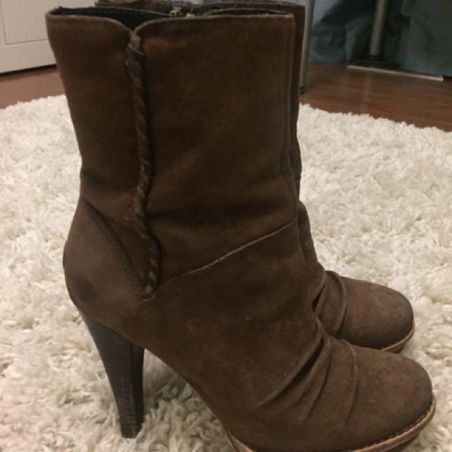 Uggs High Heel Booties