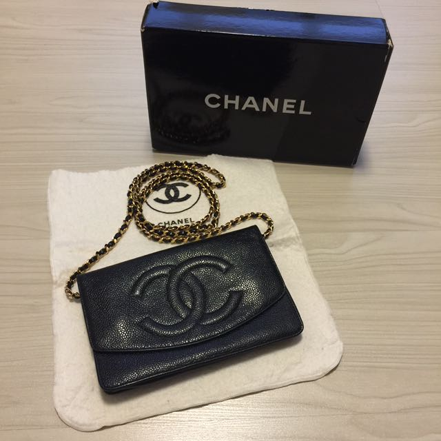 7f5e4746a8a0 Vintage Chanel Timeless CC Wallet On Chain, Luxury, Bags & Wallets on  Carousell