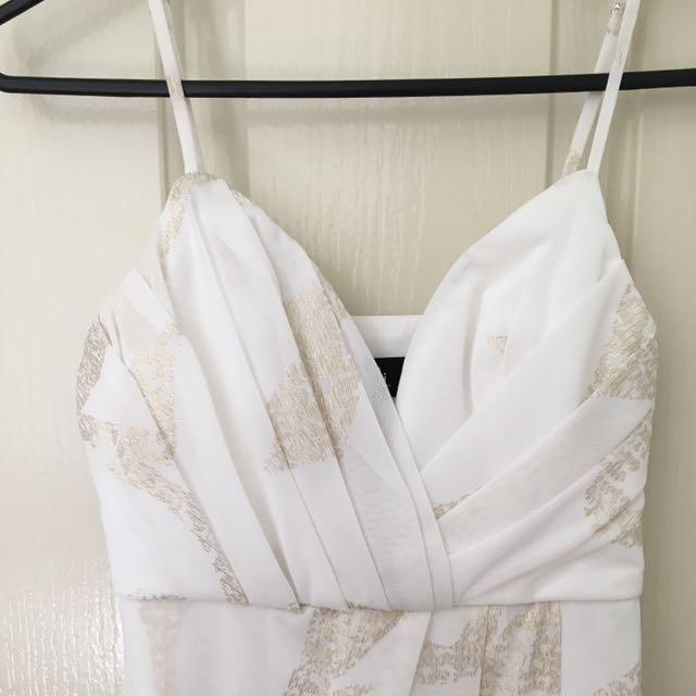 White Dotti Dress