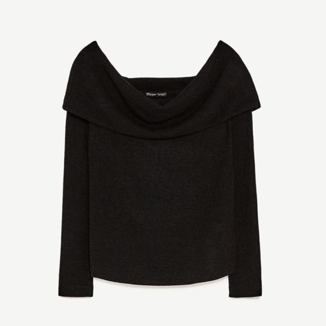 Zara Off Shoulder Sweater