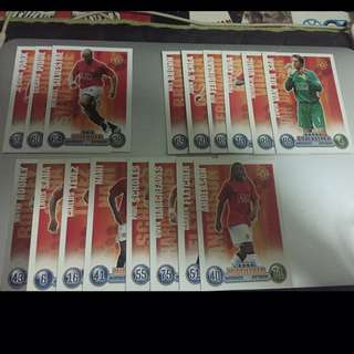MATCH ATTAX 07/08 - MAN UTD