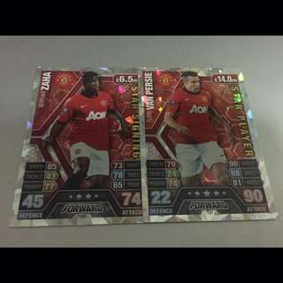 MATCH ATTAX 13/14 - MAN UTD