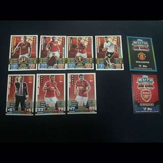 MATCH ATTAX 14/15 - 15/16 MAN UTD