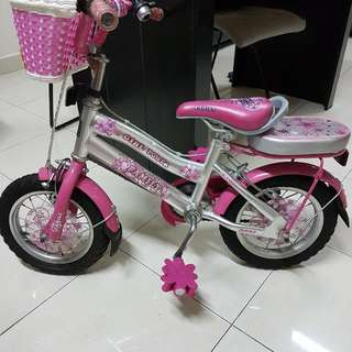Girls Bicycle (4-7 yes old)
