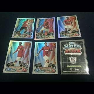 MATCH ATTAX 11/12 - MAN UTD