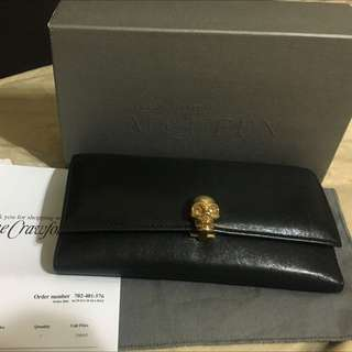 Alexander McQueen Wallet Authentic