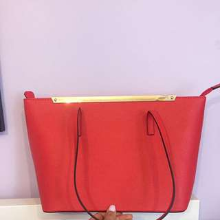 Red Purse From Aldo