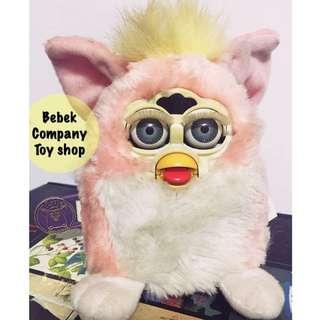 美國絕版玩具 Vintage Furby baby 1999 Tiger 古董玩具 菲比 寶寶 菲比小精靈 可動玩偶