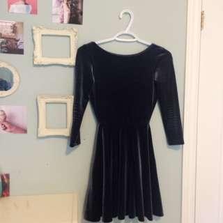 American Apparel - Velvet Dress
