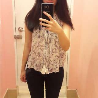 Forever21 Bohemian Top
