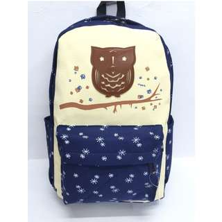 denim fabric backpack