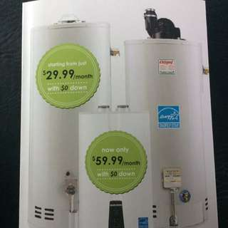 TANKLESS AND HIGH EFFICIENT WATER HEATER