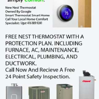 NEST WATER HEATER FREE INSPECTION