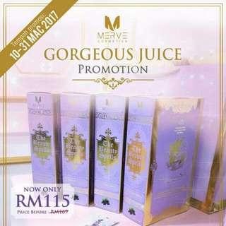 Gorgeous Juice Merve
