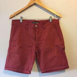 Ziggy Red Chino Short