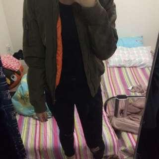 Jay Jays Puffy Bomber Jacket