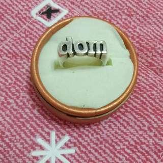 日本純銀925戒指厚實款