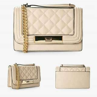 Aldo Quilted Chain Bag