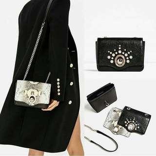 Zara Crossbody Bag With Interchangeable