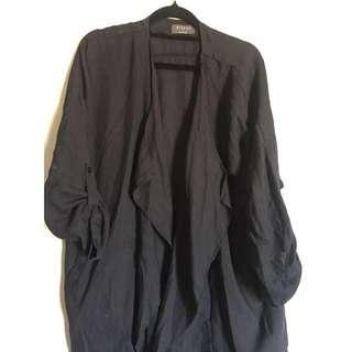 Black Oversized Jacket