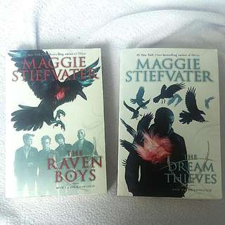 BUNDLE: The Raven Boys & The Dream Thieves (Book 1 & 2) By Maggie Stiefvater