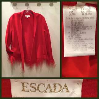 Size L/XL - Vintage Escada -  Open jacket