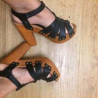 Wooden Heel
