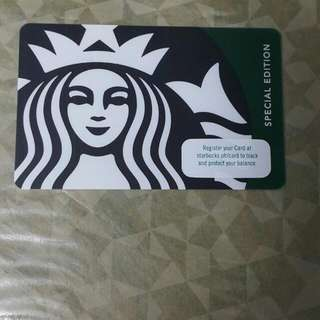 Starbucks Card Green Siren