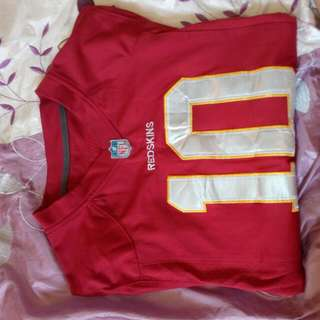 Red Skins NRL Nike Top