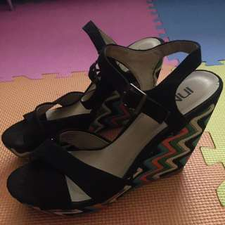 Italy brand Shoes! InNIU Brand (Wedge Style)