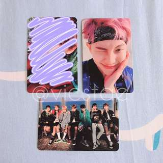[TRADE] BTS YNWA PHOTOCARDS