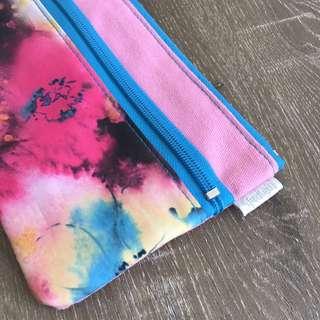 Sportsgirl Pencil Case in Watercolour Pattern