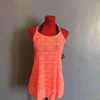 OP Sexy Swimsuit Cover Up In Neon-ish Orange