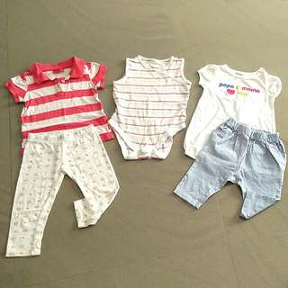 Girl's Clothing In Assortment