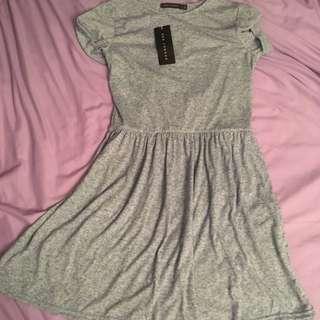 Grey Dress QED LONDON