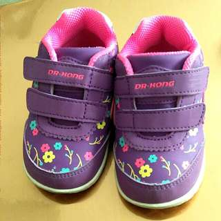 Paediatric sole - Almost New Dr Kong Covered Shoes