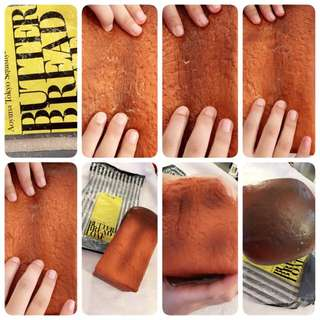 Ibloom X Basic Bag Butter Bread Loaf Original Licensed Squishy