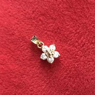 18k Chinese Gold Rositas Pendant