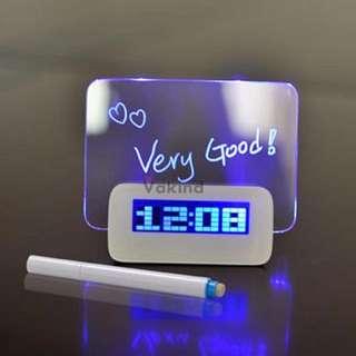Jam Digital Dengan LCD Display